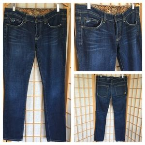 Rich & Skinny Distressed Button Fly Jeans SZ 29